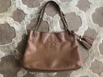 Authentic Tory Burch Thea collection tote