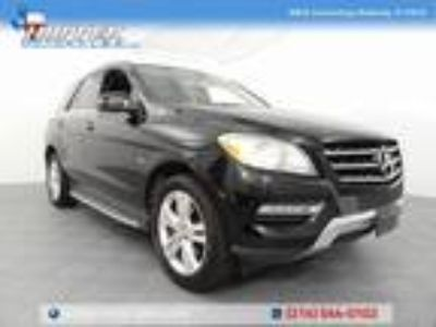 used 2012 Mercedes-Benz M-Class for sale.