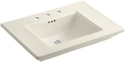 "KOHLER K-2269-8-47 Memoirs Bathroom Sink with Stately Design and 8"" Centers"