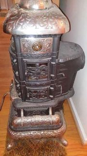 Red Cross Signal Ocenian 1893 Antique Stove Fully Restored