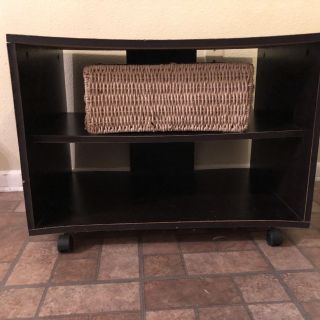 3 Shelf (Including Top Surface) Rolling Entertainment Center/Back Door Shoe Rack/Closet Space Saver ~ SO MANY USES!! Pickup in West Mobile!!