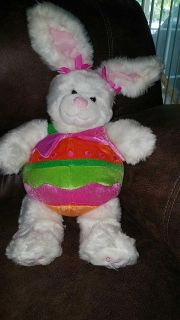 Build a Bear bunny in egg outfit