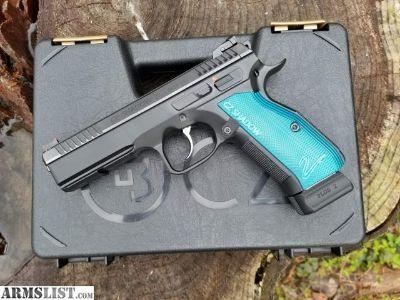 For Sale: NIB CZ Shadow 2 w/ Blue Grips