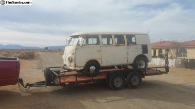 1966 VW Bus Camper