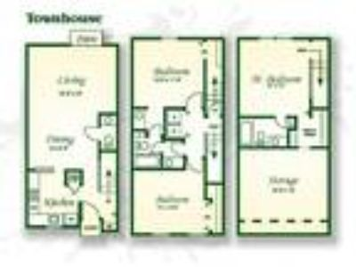 Crabtree Crossing Apartments and Townhomes - The Oak Townhouse