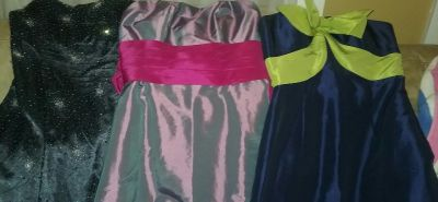 3 Ball Gowns - size Small
