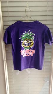 Purple Pineapple Willies t-shirt. Size S. Great condition