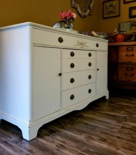 Large refinished buffet