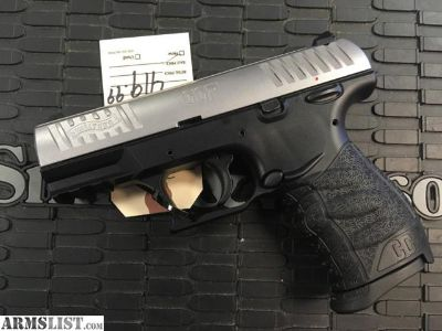 For Sale: Walther CCP slim pistol with Stainless Slide # 7025