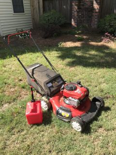 Lawn mower and weed eater