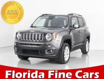 2017 Jeep Renegade Latitude 4x4 (gray)
