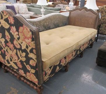 "Unusual ""Backless"" Sofa or Daybed"
