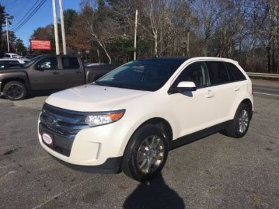 2012 Ford Edge Limited (White)