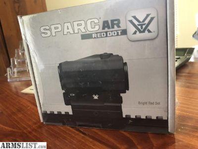 For Sale: Vortex SPARC red dot