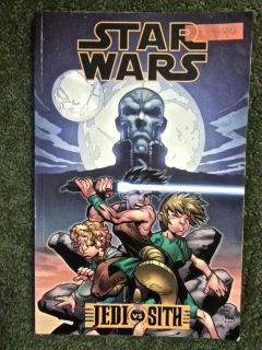 "Star Wars ""JEDI vs SITH"" Comic Book"