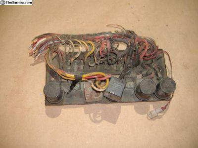 Porsche 914 fuse box relay panel