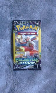 Pokemon Sun & Moon Celestial Storm Trading Cards: 3 Additional Game Cards 2018