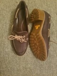 timberland size 8 women's loafers