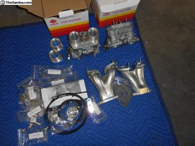 N.O.S. 36 idf pair, manifolds, stacks, sync link