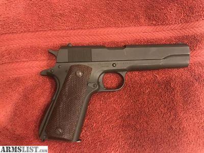 For Sale/Trade: .45 Remington Rand Colt M1911A1