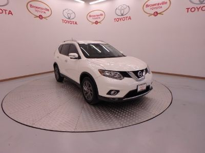 2016 Nissan Rogue sl (Pearl White)