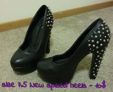 NEW spiked heels