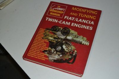 Sell RARE.... Modifying and Tuning FIAT/LANCIA TWIN-CAM ENGINES by Guy Croft motorcycle in Cullman, Alabama, United States