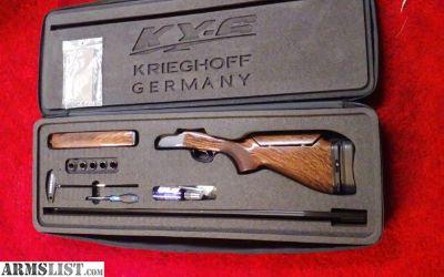 For Sale: Krieghoff trap gun