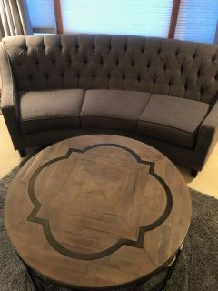 Cocktail couch and table