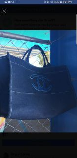 Brand new chanel tote bag