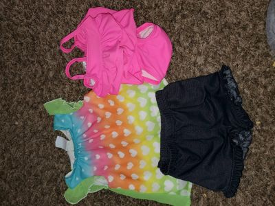 Baby girl 0-3 mo Carter's swim suit & outfit