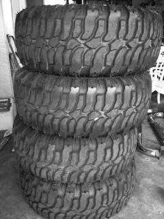Purchase Super Swamper INTERCO SS M16 37x13.50R15LT LIKE NEW 37 x 13.50r 15LT motorcycle in Denair, California, US, for US $750.00