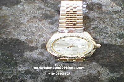Original 18k Rolex Oyster Perpetual Date Just Watch.