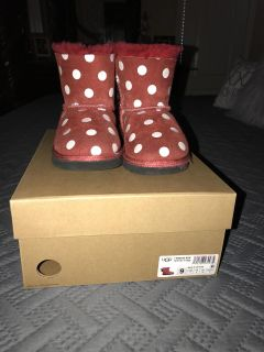 Toddler Girl Minnie Mouse Ugg Boots