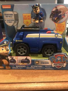 New paw patrol on a roll chase
