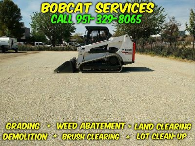 Bobcat Grading, Clearing, Demolition, Weed Abatement