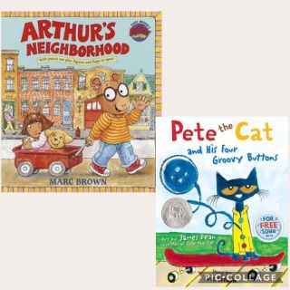 In search of Arthur and Pete the cat books