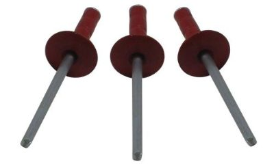 """Sell MULTI GRIP 1/8"""" RED Large Head Pop Rivet 250ct 1/8 Racing Fasteners IMCA USMTS motorcycle in Lincoln, Arkansas, United States, for US $15.49"""