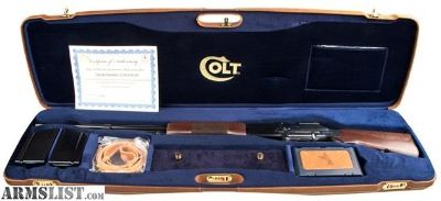 For Sale: Colt 1918 SLR Brand New WORK OF ART 30-06 in Case