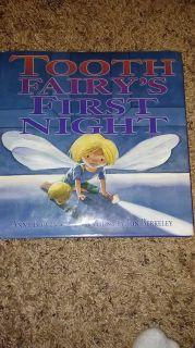 Large hardcover Tooth Fairy's First Night