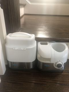 Born Free Bottle Warmer and chilled bottle carrier