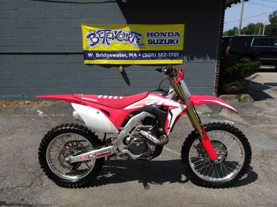 2017 Honda CRF450R Motocross Motorcycles West Bridgewater, MA