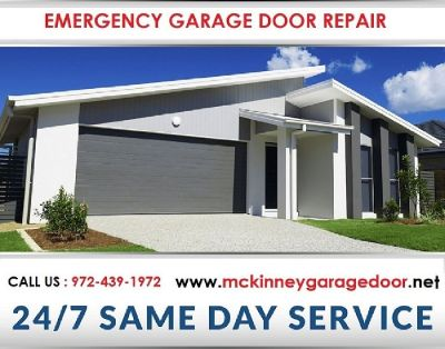 24/7 Emergency Garage Door Repair & New Installation Service | McKinney, Dallas 75069 TX