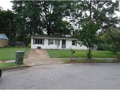 3 Bed 1 Bath Foreclosure Property in Memphis, TN 38118 - Basswood St
