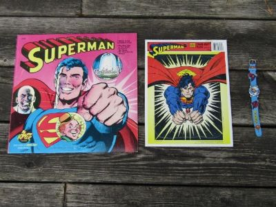 Assorted Superman Collectibles
