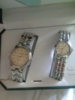 His/Hers matching watch set
