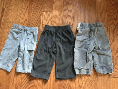 Lot of 3 size 9 month pants
