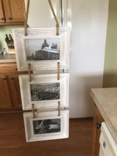 NWT hanging 4x6 frames from world market