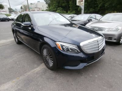 2015 Mercedes-Benz C-Class 4dr Sdn C300 Luxury 4MATIC (Lunar Blue Metallic)