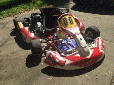 Birel racing kart